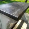 Betonový stůl s dřevěnou deskou BS II