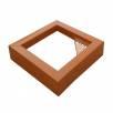 Betonový odpadkový koš  BETO XI základní pískový