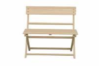 Flora dřevěná lavice